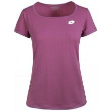 Tee-Shirt Lotto Femme Tech Violet