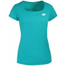 Tee-Shirt Lotto Femme Tech Turquoise