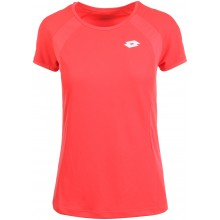 Tee-Shirt Lotto Femme Squadra Rose