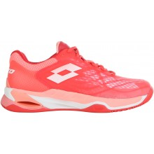 Chaussures Lotto Femme Mirage 100 Terre Battue Roses
