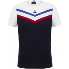 Tee-Shirt Le Coq Sportif Junior Garçon Tri Marine