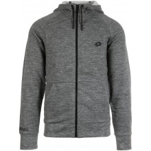 Sweat À Capuche Lotto Zippé Dinamico Gris