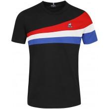 Tee-Shirt Le Coq Sportif Tricolore N°1 Noir
