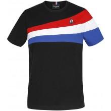 Tee-Shirt Le Coq Sportif Junior Tricolore N°1 Noir