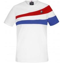 Tee-Shirt Le Coq Sportif Junior Garçon Tricolore N°1 Blanc
