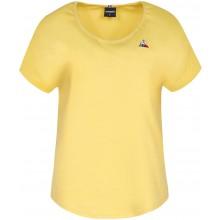 Tee-Shirt Le Coq Sportif Femme Sport N°1 Jaune