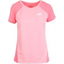 Tee-Shirt Lotto Femme Rose