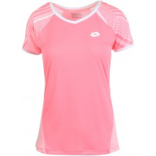 Tee-Shirt Lotto Femme Paris Rose