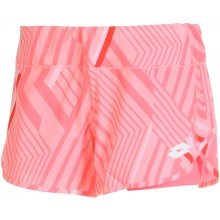 Short Lotto Femme 2 en 1 Athlète Rose