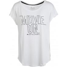 Tee-Shirt Lotto Femme Vabene Blanc