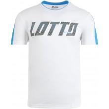 Tee-Shirt Lotto Logo Blanc