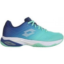 Chaussures Lotto Femme Mirage 300 Terre Battue Bleues