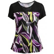 Tee-Shirt Lotto Femme New-York Noir