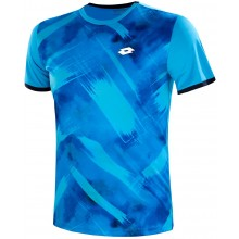 Tee-Shirt Lotto Top Ten III PRT3 Indian Wells Bleu
