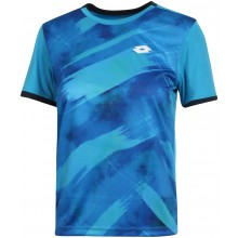 Tee-Shirt Lotto Junior Garçon Top Ten Indian Wells Bleu