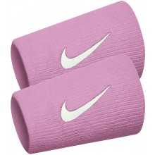 Serre Poignets Nike Tennis Double Largeur Nadal Roses