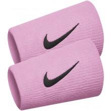 Serre Poignets Nike Tennis Double Largeur Nike Team Roses
