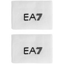 Serre Poignets EA7 Fognini Blancs