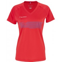 Tee-Shirt Tecnifibre Junior Fille F2 Airmesh Club Rouge