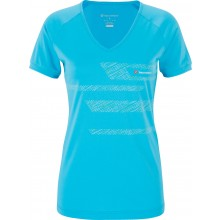 Tee-Shirt Tecnifibre Junior Fille F2 Airmesh Club Bleu