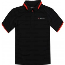 Polo Tecnifibre Junior Club F4 Vent Stripe Noir