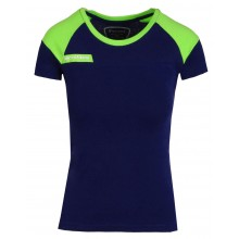 Tee-Shirt Tecnifibre Junior Fille F1 Stretch Marine