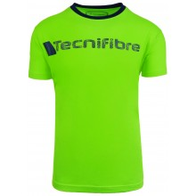 Tee-Shirt Tecnifibre Junior Garçon Cotton Vert