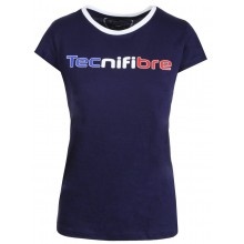 Tee-Shirt Tecnifibre Junior Fille Cotton Marine