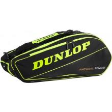 Sac de Tennis Dunlop NT 12 Jaune/Noir