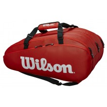 Sac de Tennis Wilson Tour 3 Comp Rouge