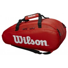 Sac de Tennis Wilson Tour 2 Comp Large Rouge