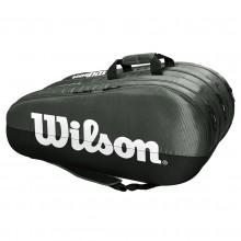 Sac de Tennis Wilson Team 3 Comp Noir