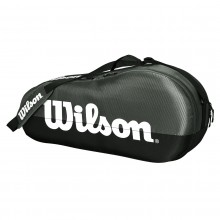 Sac de Tennis Wilson Team 1 Comp Small Noir