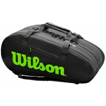 Sac de Tennis Wilson Super Tour 3 Noir