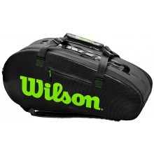Sac de Tennis Wilson Super Tour 2 Noir