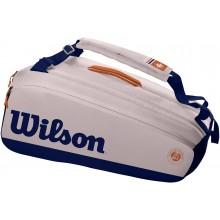 Sac Wilson Roland Garros Premium 9 Raquettes