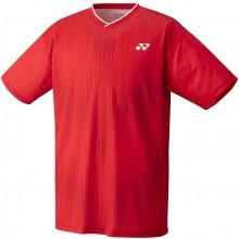 Tee-Shirt Yonex Homme Team YM0026EX Rouge