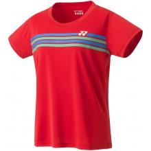Tee-Shirt Yonex Femme Team YW0022EX Rouge