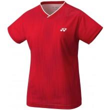 Tee-Shirt Yonex Femme Team YW0026EX Rouge