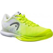 Chaussures Head Sprint Pro 3.0 Toutes Surfaces Jaunes