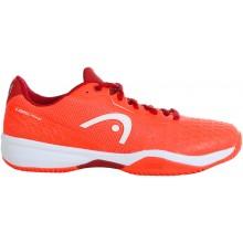 Chaussures Head Junior Revolt Pro 3.0 Toutes Surfaces Oranges
