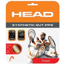 Cordage Head Synthetic gut PPS blanc
