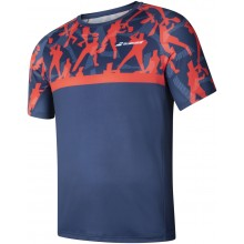 Tee-Shirt Babolat Junior Compete Crew Neck Bleu