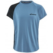Tee-Shirt Babolat Junior Performance Crew Bleu