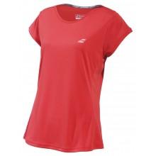 Tee-Shirt Babolat Junior Fille Performance Rouge