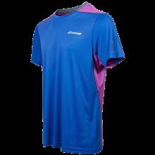 Tee-Shirt Babolat Crew Neck Cobalt