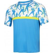 Tee-Shirt Babolat Compete Crew Neck Bleu