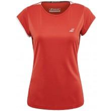 Tee-Shirt Babolat Femme Performance Rouge