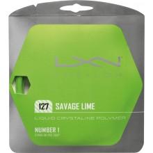 Cordage Luxilon Savage Lime (12 mètres)