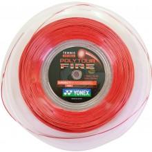 Bobine Yonex Polytour Fire Rouge (200 Mètres)